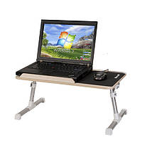 Раскладной столик для ноутбука XGeer. Мини-подставка с охлаждением X Geer стол Иск Гир, фото 1