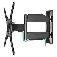 """Кронштейн, поворотное крепление для телевизоров HF400 32""""-52"""" на стену до 50кг с поворотом на 180º, фото 1"""