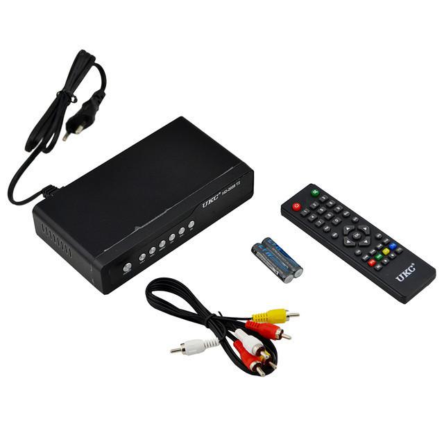Цифровой эфирный Тюнер T2 UKC HD-2058 в металическом корпусе wi-fi DVB-Т2 ресивер