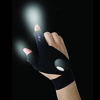 Перчатки со встроенным фонариком Glove Light перчатки с фонариком, фото 1