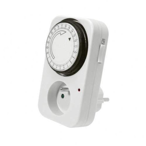 Розетка с таймером Programmer timer, электронная розетка-таймер. Розетка с выключателем