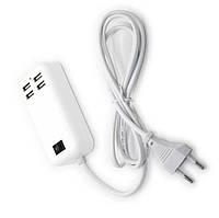 Адаптер питания - зарядное устройство на 4 usb порта от сети 220W, фото 1