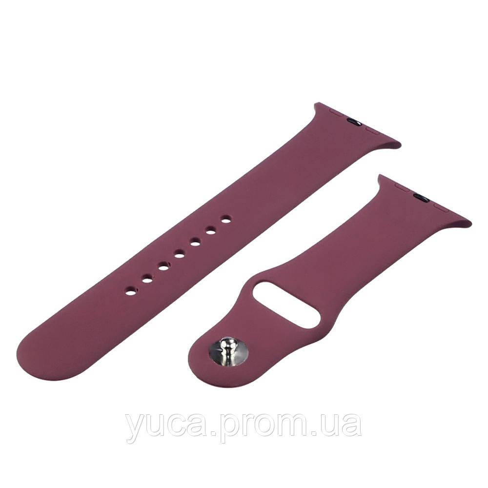 Ремешок силиконовый для Apple Watch Sport Band 42/ 44mm цвет № 63