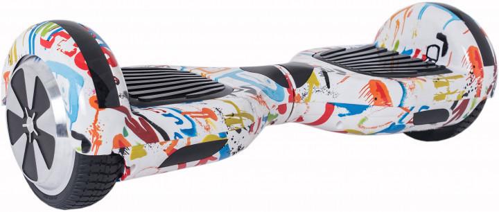 "Гироскутер гироборд Smart Balance Wheel 6.5"" A3 с автобалансом и Bluetooth Graffiti Граффити брызги краски"