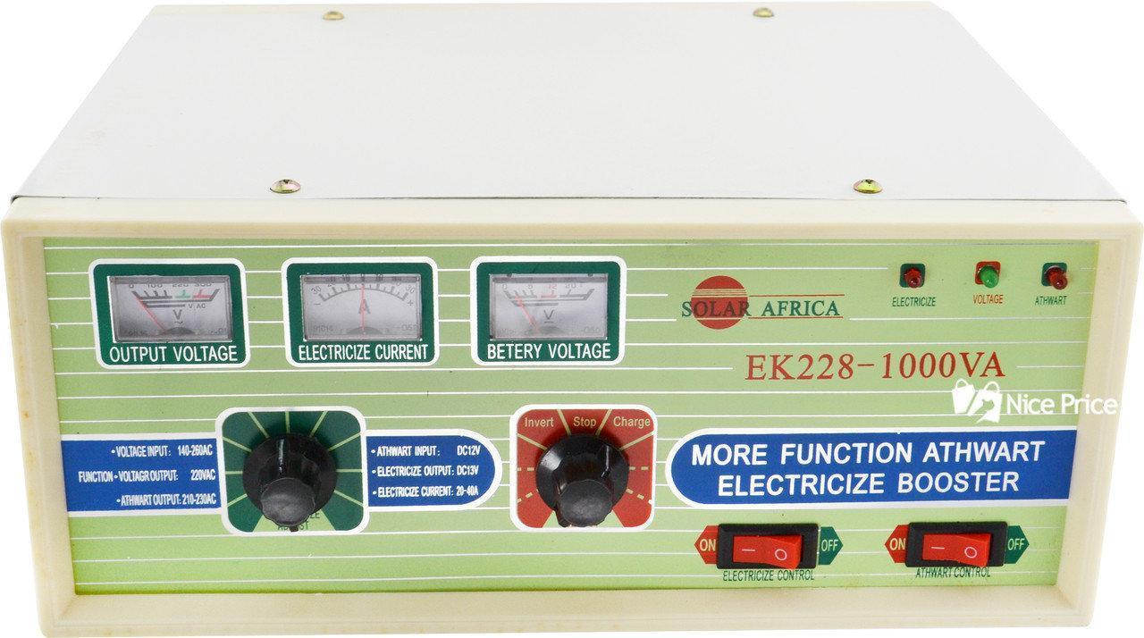 Автомобильный преобразователь напряжения Solar Africa SI-1000VA 1000W авто инвертор 12V-220V с зарядным