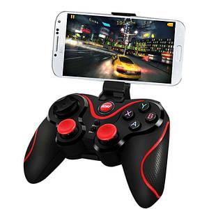 Беспроводной джойстик Геймпад S5 Джойстик Bluetooth для PC iOS Android для смартфона, планшета, PC