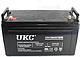 Аккумулятор battery gel 12v 100a, фото 3