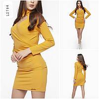 Туника-платье желтое, фото 1