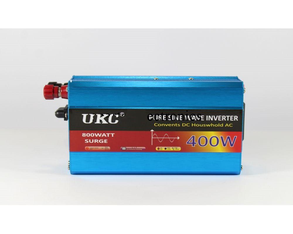 Преобразователь AC/DC UKC с 12 в 220 в 400W синусоида Инвертор напряжения 400Вт