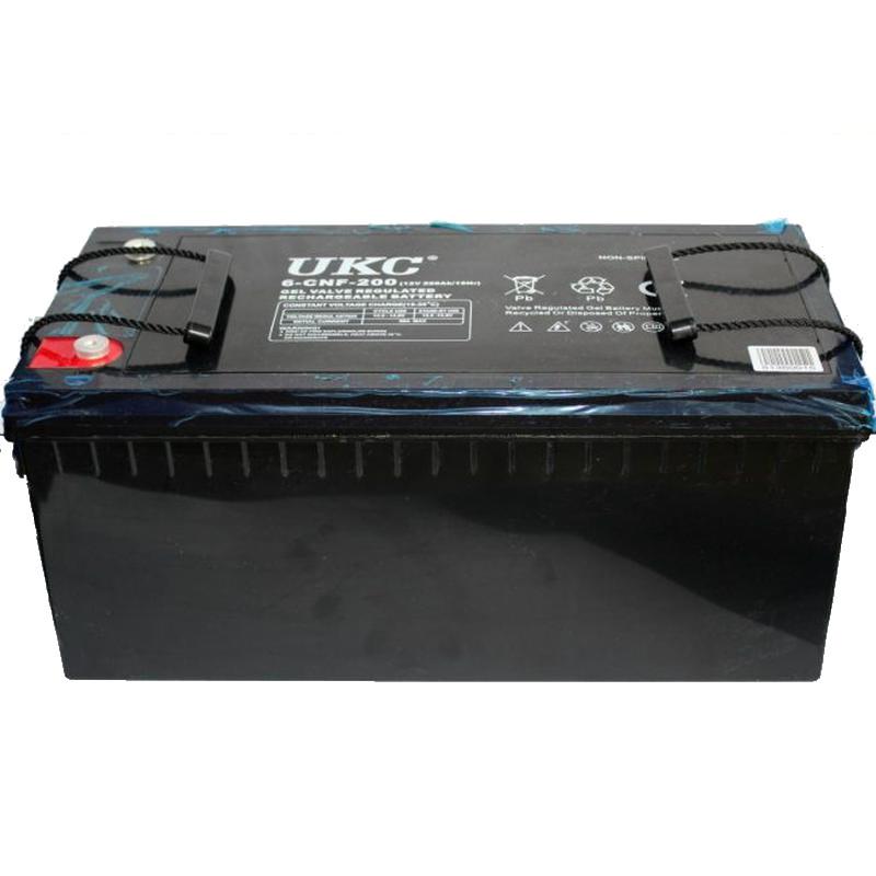 Универсальный гелевый аккумулятор GEL UKC 6-CNF-200 12V 200Ah (Аккумуляторная батарея 12В 200Ач)