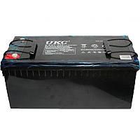 Универсальный гелевый аккумулятор GEL UKC 6-CNF-200 12V 200Ah (Аккумуляторная батарея 12В 200Ач), фото 1