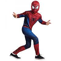 Детский карнавальный костюм Человека паука, костюм супер героя Spiderman, фото 1