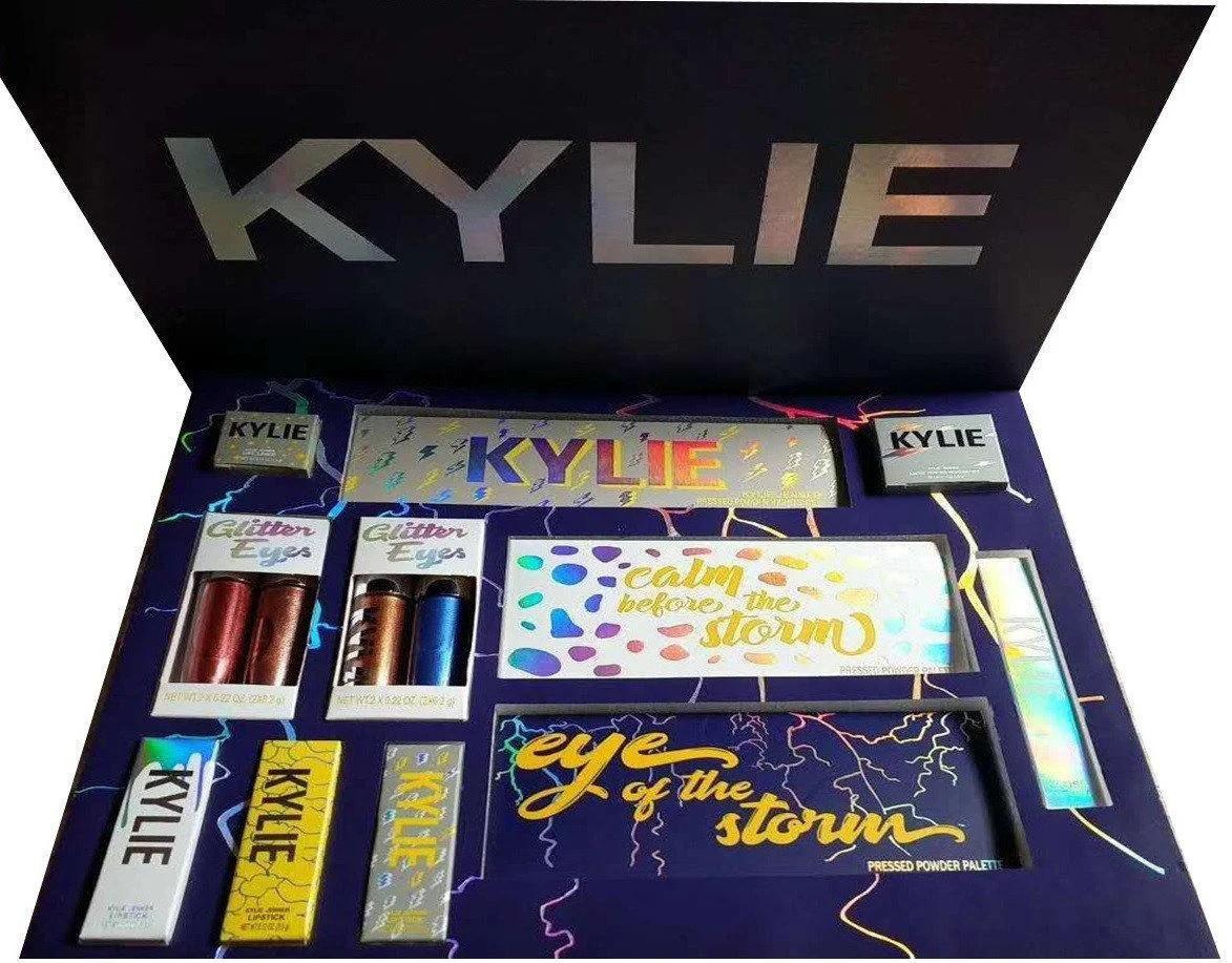 Подарочный набор косметики Kylie Weather Collection синий, набор Kylie синий