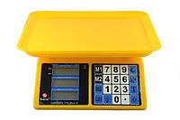 Торговые электронные весы до 40 кг Domotec MS-266 Пластик 40кг, фото 1