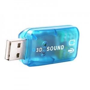 Внешняя звуковая карта USB 2.0 3d Sound 5.1