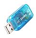Внешняя звуковая карта USB 2.0 3d Sound 5.1, фото 4