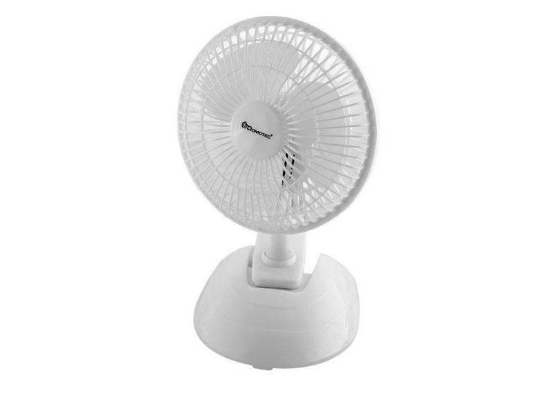 Настольный вентилятор Domotec MS-1623 15W с прищепкой