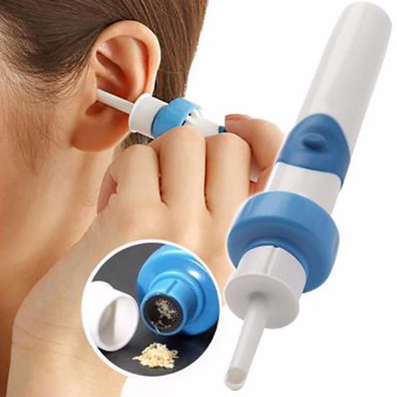 Вакуумный пылесос для чистки ушей С-ears Painless Cordless Electric DEOcross I-ears