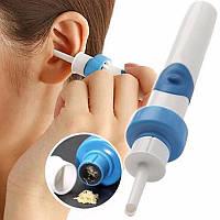 Вакуумный пылесос для чистки ушей С-ears Painless Cordless Electric DEOcross I-ears, фото 1