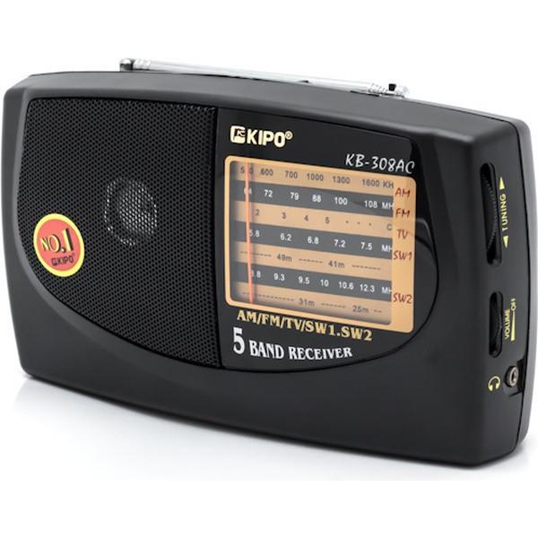 Радиоприемник FM радио KIPO KB-308AC