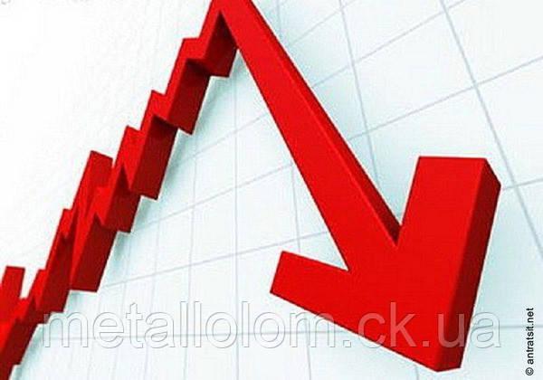 Произошло очередное падение цены на медь и латунь.