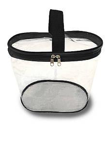 Сумка-органайзер прозрачная в роддом Mommy Bag, цвет - Черный