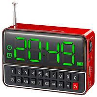 Радиоприемник WS-1513BT с часами и bluetooth, фото 1
