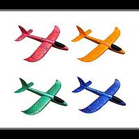Игрушечный метательный Самолет 88-888 из пенопласта Планер пенопластовый самолетик