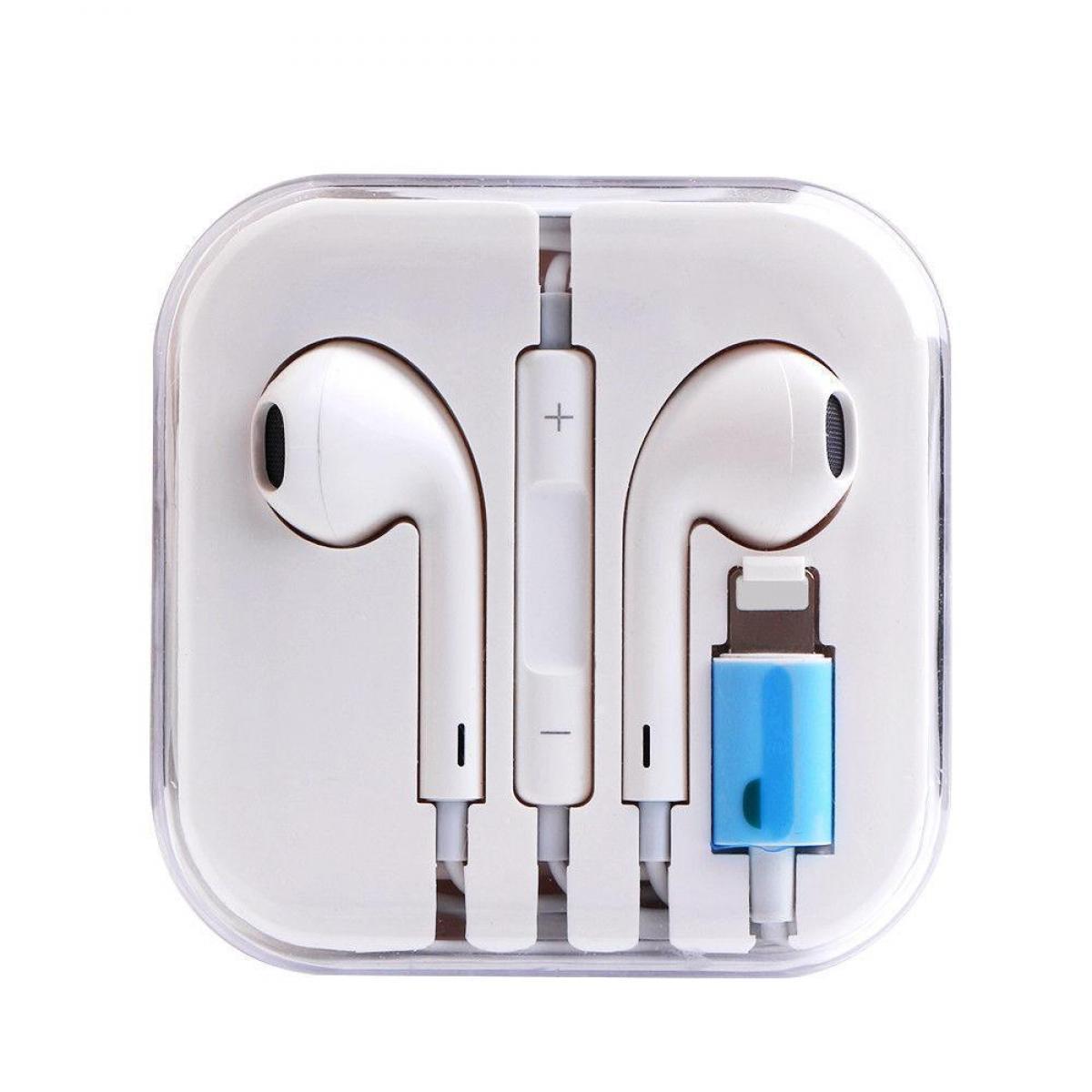 Проводные Bluetooth наушники для iPhone 10, X, White Белые
