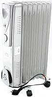 Обогреватель масляный Crownberg CB-7-S 1500W Радиатор электрический на 7 Секций, фото 1