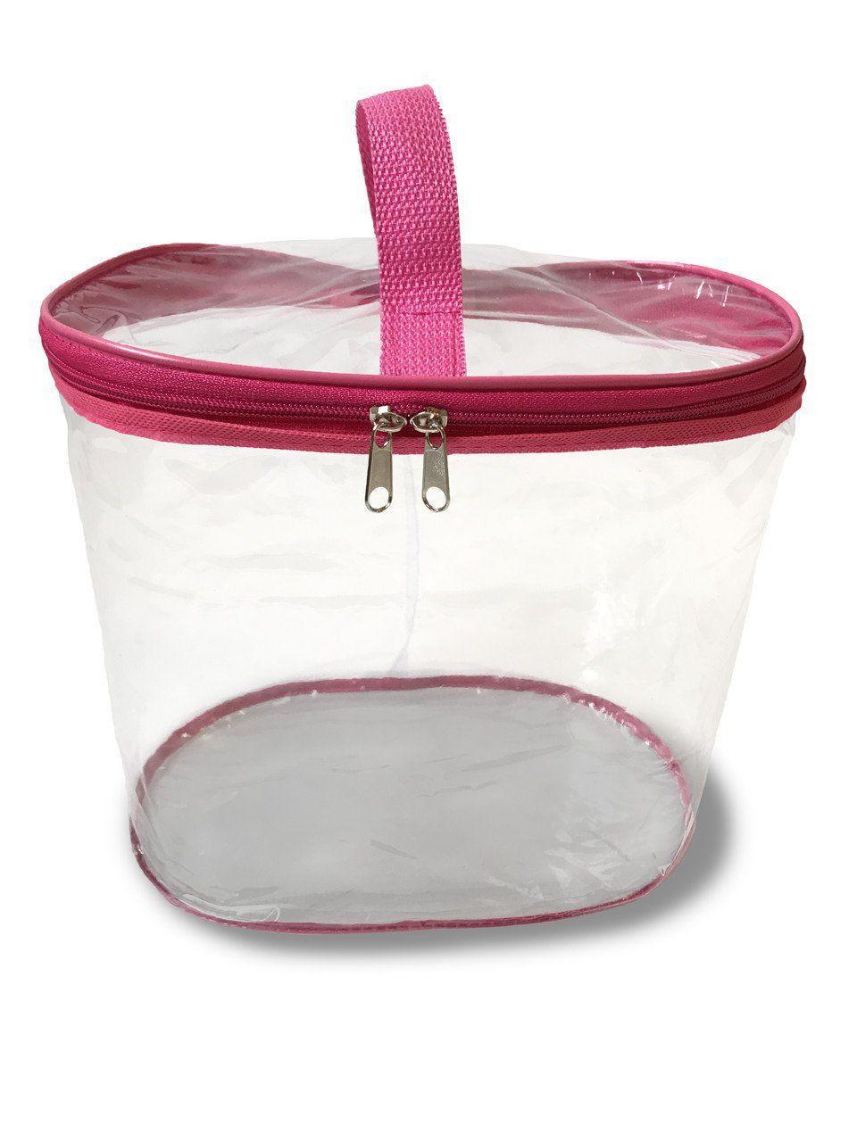 Сумка-органайзер прозрачная в роддом Mommy Bag, цвет - Розовый