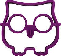 Силиконовая форма для жарки яиц CUMENSS Сова Purple