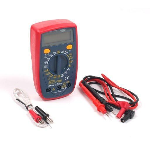 Мультиметр Digital DT33C многофункциональный цифровой тестер измерение тока напряжения сопротивления