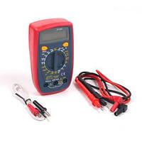 Мультиметр Digital DT33C многофункциональный цифровой тестер измерение тока напряжения сопротивления, фото 1
