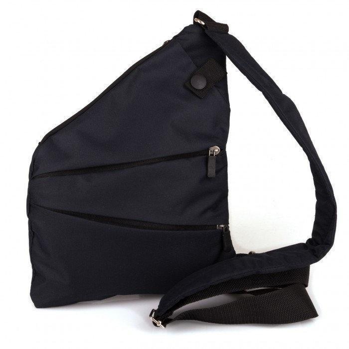 Мужская сумка мессенджер Cross Body Black (Кросс боди) Черная