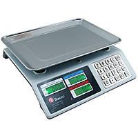 Торговые электронные весы Domotec MS-982S от 5 гр до 50 кг Metal Button с металлическими кнопками, фото 1