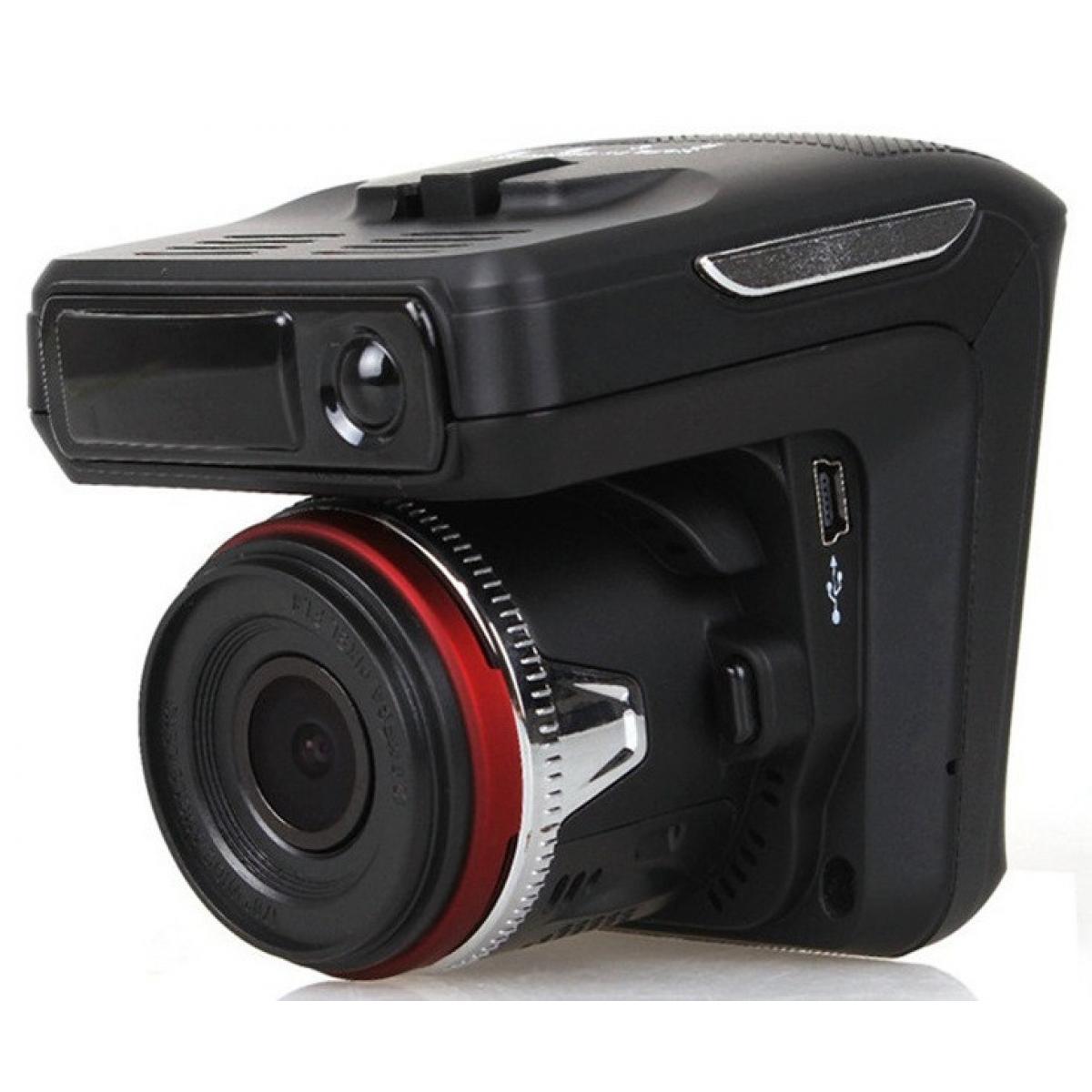 Автомобильный видеорегистратор Radar video X7 360° 2 в 1 FullHD 1080p с радар-детектором и GPS модулем