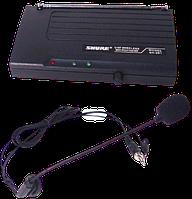 Радиомикрофон головной с базой Shure SH-201 беспроводная гарнитура для радиосистемы, микрофон, радиосистема, фото 1