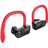 Беспроводные Bluetooth наушники Awei T2 Red, красные, фото 1