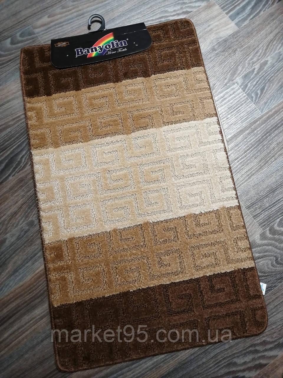 Набор ковриков в ванную и туалет 100*60 см Banyolin