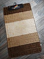 Набір килимків в ванну і туалет 100*60 см Banyolin, фото 1