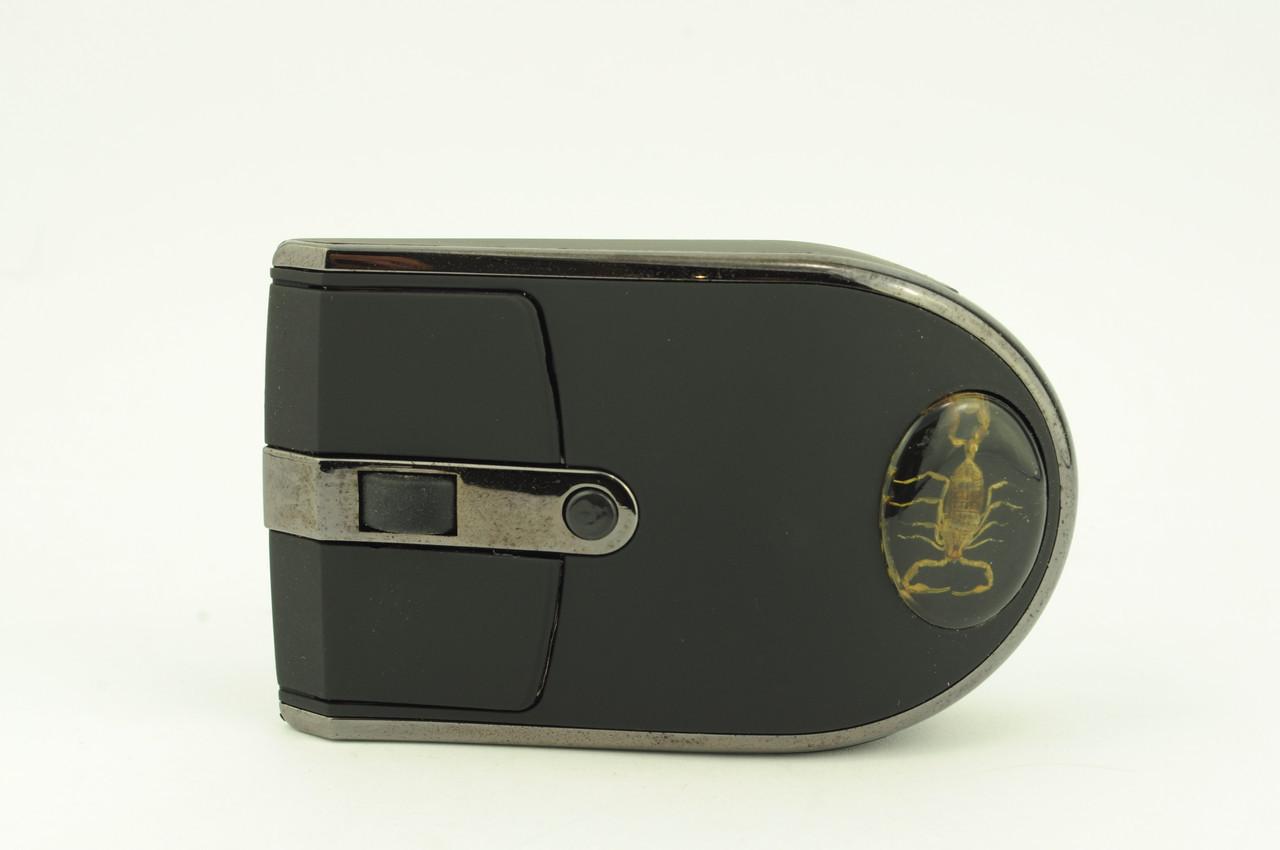 Мышь компьютерная беспроводная MA-MTW09 USB + радио черная