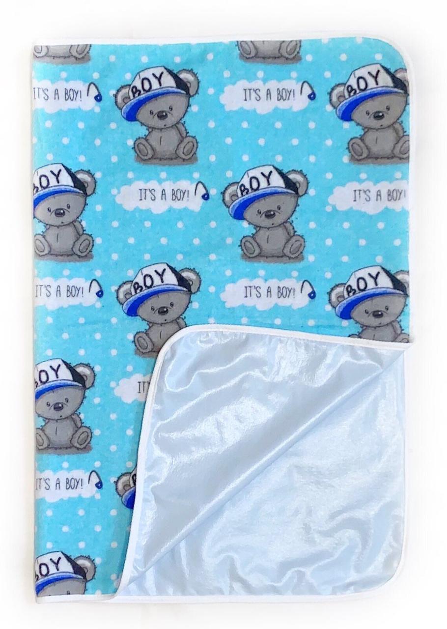 Непромокаемая пеленка многоразовая It's A Boy Blue - #5