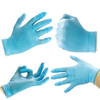 Перчатки нитриловые Medicom Safetouch L 100 шт, фото 6