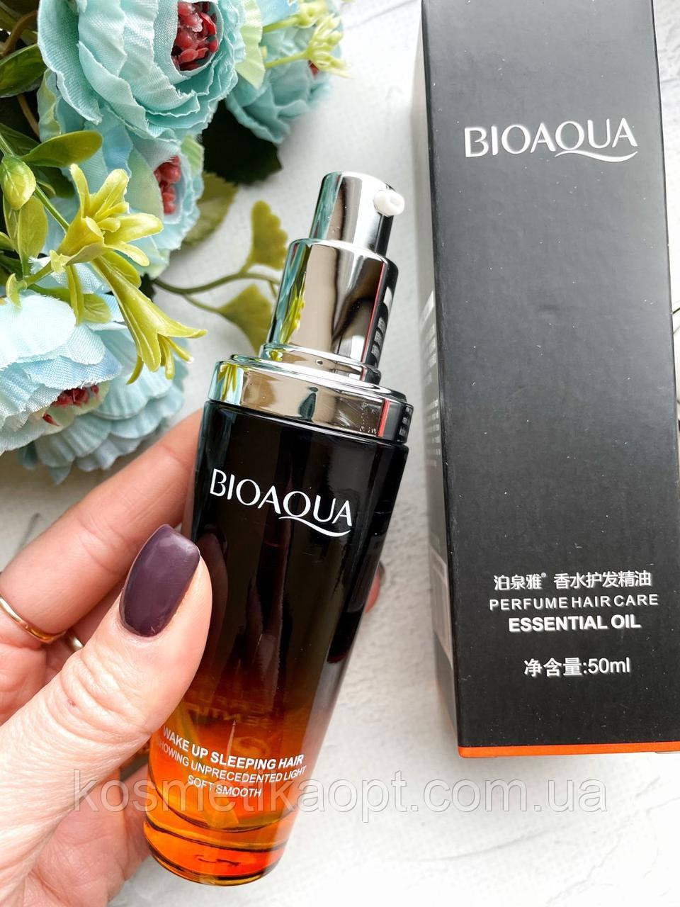 Сыворотка для поврежденных волос Bioaqua - Make Up Sleeping Hair с лимоном 01