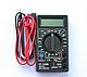 Мультиметр тестер вольтметр амперметр DT-830B, фото 3