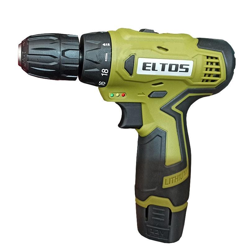 Шуруповерт аккумуляторный Eltos ДА-12M (2 аккумулятора)