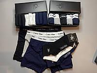Мужские трусы боксеры и носки (5 шт.) + носки (9 пар).(в подарочных коробках. Трусы транки боксеры11
