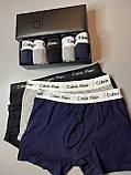 Мужские трусы боксеры и носки (5 шт.) + носки (9 пар).(в подарочных коробках. Трусы транки боксеры11, фото 5