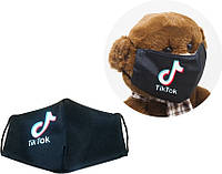 """Многоразовая 4-х слойная защитная маска """"ТикТок"""" размер 3, 7-14 лет mask2NEW"""